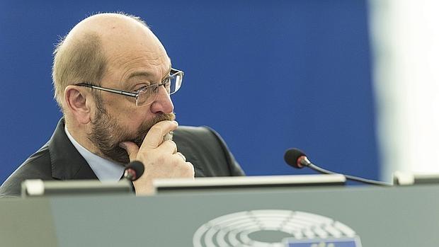 El presidente del Parlamento Europeo, Martin Schulz - EFE