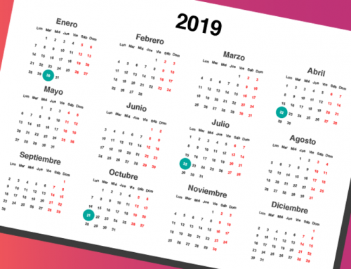 Calendario fiscal 2019 para Pymes y Autónomos