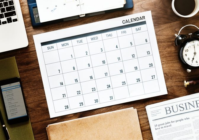 Calendario laboral 2019