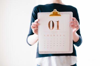 Calendario del contribuyente en enero de 2019