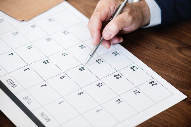 Calendario del contribuyente: febrero de 2019