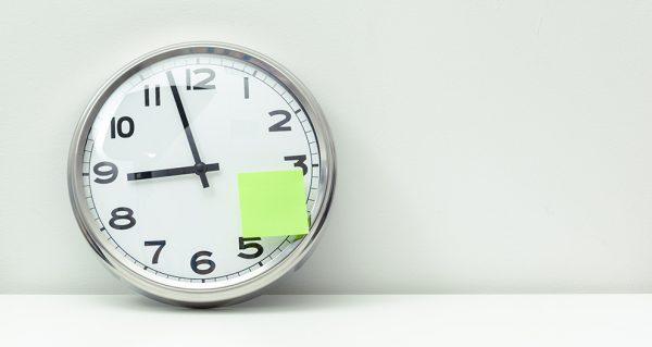 Registro horario de jornada laboral