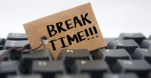 Pausas de trabajo en el registro horario obligatorio