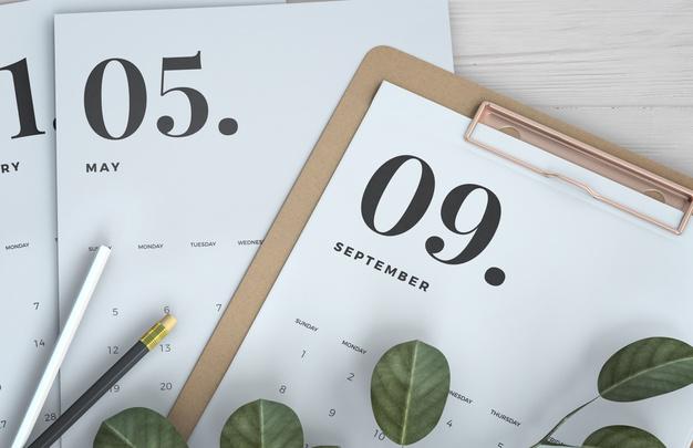 Calendario de festivos 2020