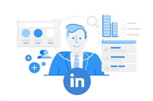 perfil de un autónomo en LinkedIn