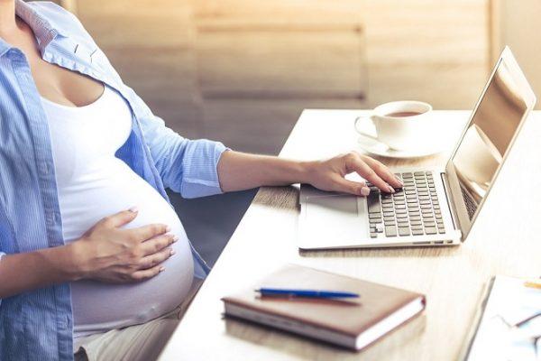 Suspensión contrato por maternidad