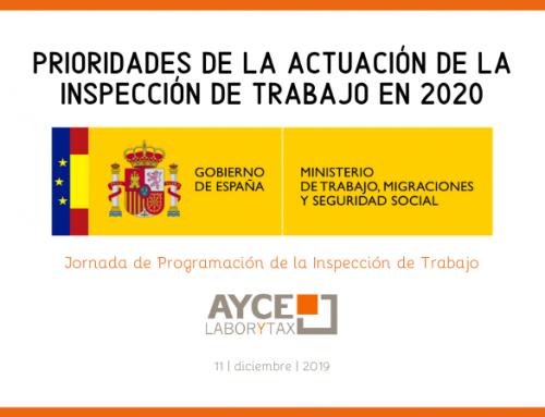 Plan de actuación de la Inspección de Trabajo en 2020