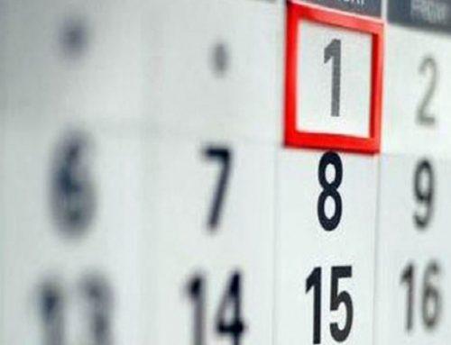 Calendario de días inhábiles para 2020 de la Administración General del Estado (AGE)