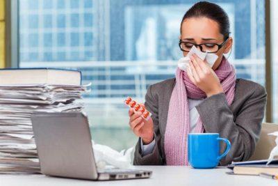 Aviso enfermedad trabajador