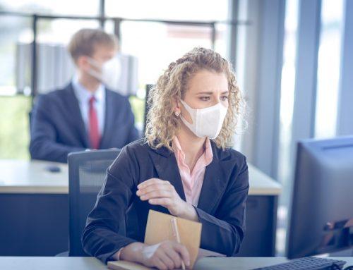 Las claves del uso obligatorio de mascarillas en oficinas y espacios de trabajo frente al Covid-19