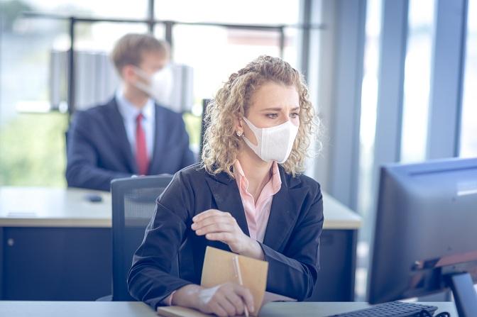 Uso obligatorio de mascarillas en el trabajo