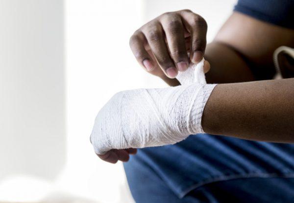 Accidente laboral en casa durante el teletrabajo