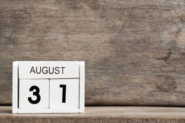 Calendario del contribuyente en agosto 2020