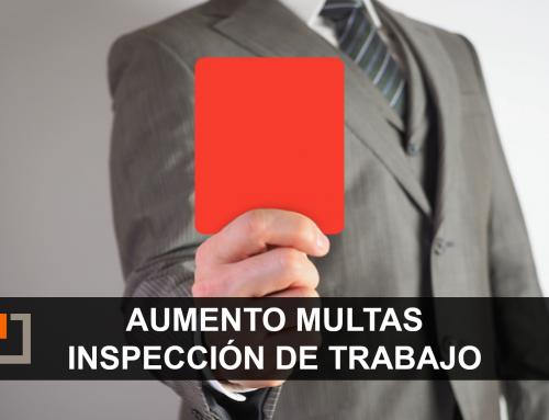 Las multas por infracciones impuestas por la Inspección de Trabajo aumentarán un 20% a partir del 1 de octubre de 2021
