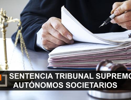 Sentencia del Tribunal Supremo: los autónomos societarios no podrán compatibilizar el 100% de su pensión y seguir trabajando