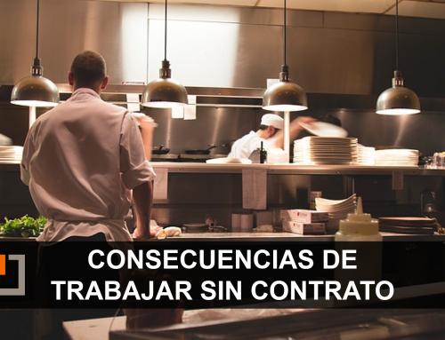 Sanciones y consecuencias de trabajar SIN contrato laboral para la empresa.